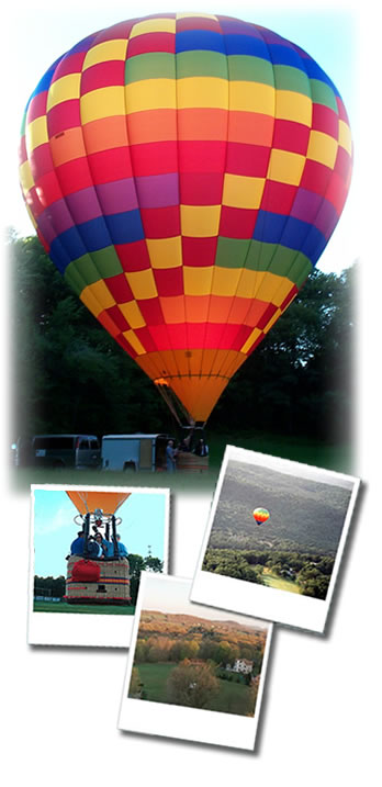 hot air balloon ride reservations