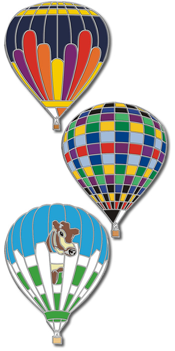 Are Blarney Custom Hot Air Balloon Pins